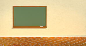 Blackboard in the classroom Royalty Free Stock Photography