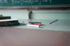 blackboard in classroom Royalty Free Stock Photography