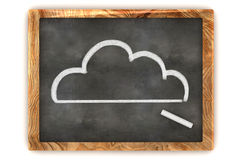 Blackboard Cloud Royalty Free Stock Photo