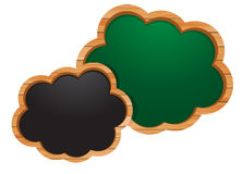 Blackboard cloud icon,  eps10 illustration Royalty Free Stock Images