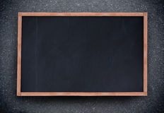 Blackboard with copy space Stock Photo