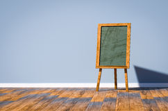 Blackboard 3d illustration Royalty Free Stock Photography
