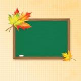 Blackboard decorated Royalty Free Stock Photo