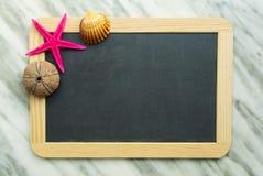 Blackboard dla lato wspominek Obraz Stock