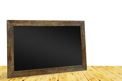 Blackboard for drawing with chalk Stock Photo