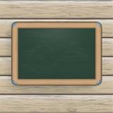 Blackboard drewno Zdjęcie Stock
