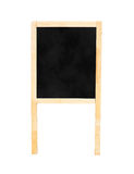 Blackboard with easel in studio room,Template for your content. Royalty Free Stock Image