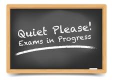 Blackboard egzamin Obrazy Royalty Free