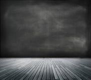 Blackboard in an Empty Room Stock Photos