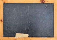 A Blackboard with an eraser