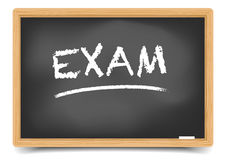 Blackboard Exam Stock Images