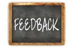 Blackboard Feedback Stock Photo