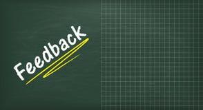 Blackboard Feedback Copyspace Royalty Free Stock Image