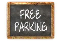 Blackboard Free Parking Stock Photos