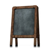 Black Board Old Wood Royalty Free Stock Photos
