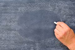 Blackboard. Royalty Free Stock Image