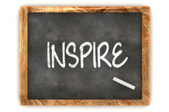 Blackboard Inspire Royalty Free Stock Image