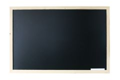 Blackboard isolated Royalty Free Stock Images