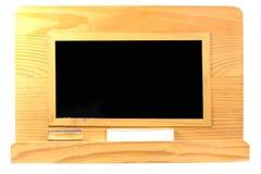 Blackboard isolated on white background Royalty Free Stock Photo