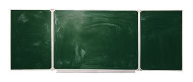 Blackboard isolated on white background. mock up for text, congratulations, phrases. Lettering Royalty Free Stock Images