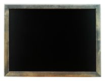 Blackboard isolated on white background Royalty Free Stock Photos