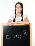 blackboard kobiety potomstwa Obraz Royalty Free