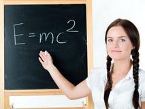 blackboard kobiety potomstwa Zdjęcia Royalty Free
