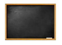 blackboard kredy pusty ramowy drewniany Fotografia Royalty Free