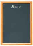 Blackboard Menu. A Blank Blackboard Menu for a Restaurant Stock Images