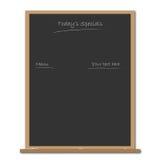 blackboard menu Zdjęcia Royalty Free