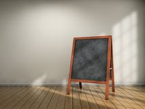 Blackboard menu Royalty Free Stock Photos