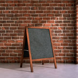 Blackboard menu Royalty Free Stock Images