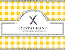 Blackboard menu restauraci koronkowy cutlery Zdjęcia Stock