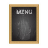 Blackboard Menu Royalty Free Stock Image