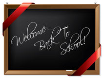 Blackboard with message Royalty Free Stock Image