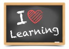 Blackboard miłości uczyć się Obraz Stock