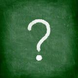blackboard oceny pytanie obrazy stock