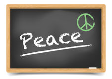 Blackboard Peace Royalty Free Stock Photography
