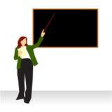 blackboard profesora nauczanie Zdjęcie Stock