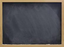 blackboard pustego miejsca kredy pył smudges biel Zdjęcie Stock