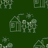 Blackboard. School. Seamless  pattern Royalty Free Stock Photos