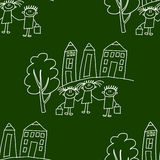 Blackboard. School. Seamless  pattern Stock Photo