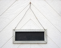 Blackboard sign Stock Images