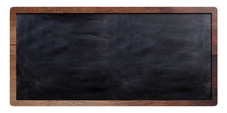 Blackboard sign on white background. 3d illustration Stock Photo