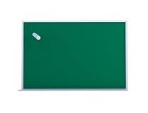 Blackboard space white background Stock Image