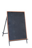 Blackboard with stand Stock Image