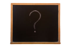 Blackboard with sticky Royalty Free Stock Photo