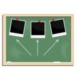 blackboard szkoła ilustracyjna realistyczna ilustracja wektor