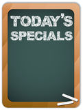 Blackboard with Today's Specials Message Stock Photography