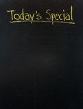 Blackboard today special Royalty Free Stock Photo